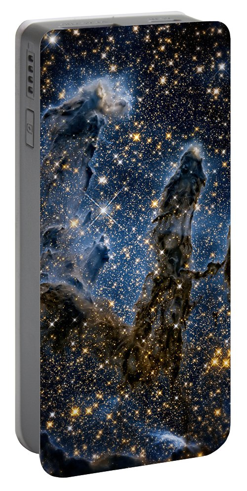 Pillars Of Creation Portable Battery Charger featuring the photograph Pillars of Creation High Definition 1 by Jennifer Rondinelli Reilly - Fine Art Photography