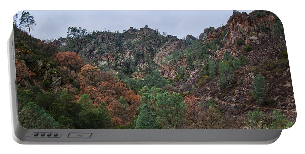 Pinnacles National Park Portable Battery Charger featuring the photograph Pinnacles National Park by Yefim Bam