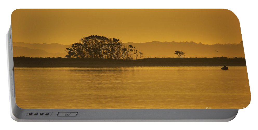 Sun Portable Battery Charger featuring the photograph Placid Morning by Joe Geraci