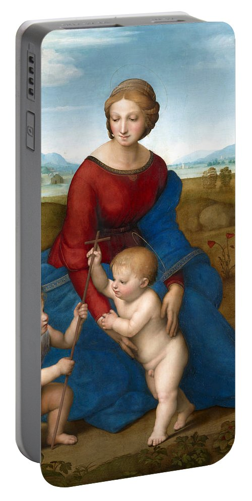 Mary Portable Battery Charger featuring the photograph Playing Time by Munir Alawi
