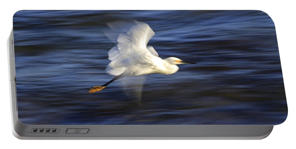 Nature Portable Battery Charger featuring the photograph Poetry In Motion, Malibu California by Maureen J Haldeman