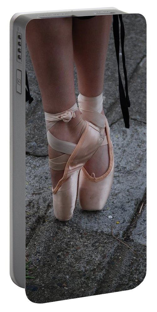 Ballet Portable Battery Charger featuring the photograph Poise by Eric Tressler