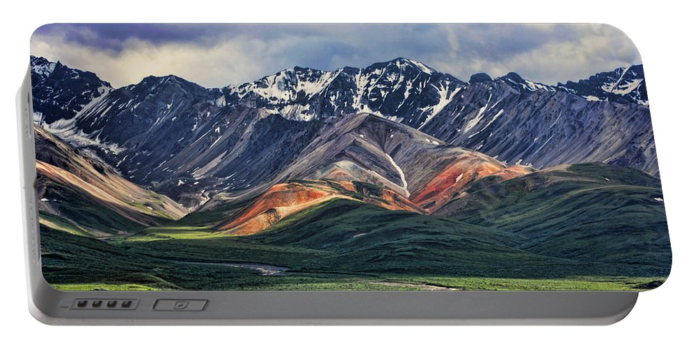 Polychrome Portable Battery Charger featuring the photograph Polychrome by Heather Applegate