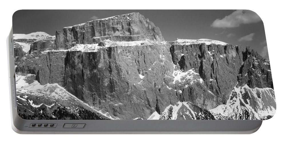 Europe Portable Battery Charger featuring the photograph Pordoi Joch - Italy by Juergen Weiss