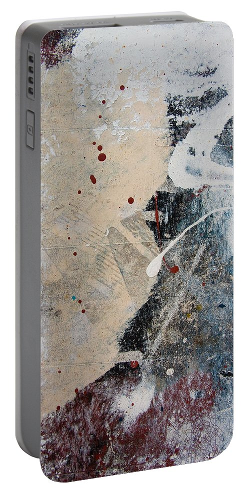 Paint Portable Battery Charger featuring the photograph port 'I by Milan Gonda