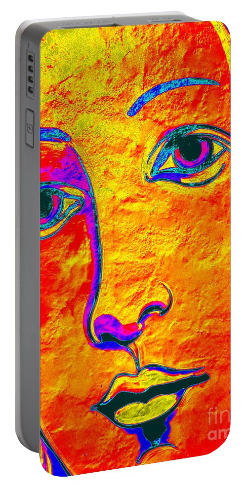 Pop Art Portable Battery Charger featuring the photograph Portrait Of Venus by Ed Weidman