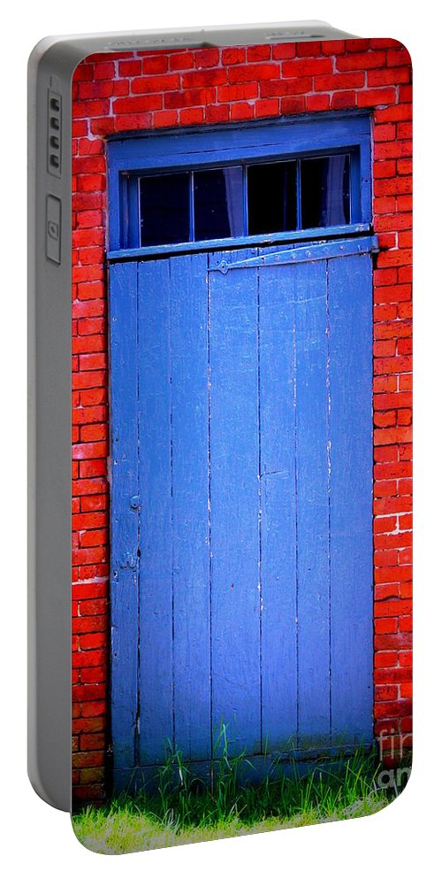Portsmouth Portable Battery Charger featuring the photograph Portsmouth Door 6 by Kevin Fortier