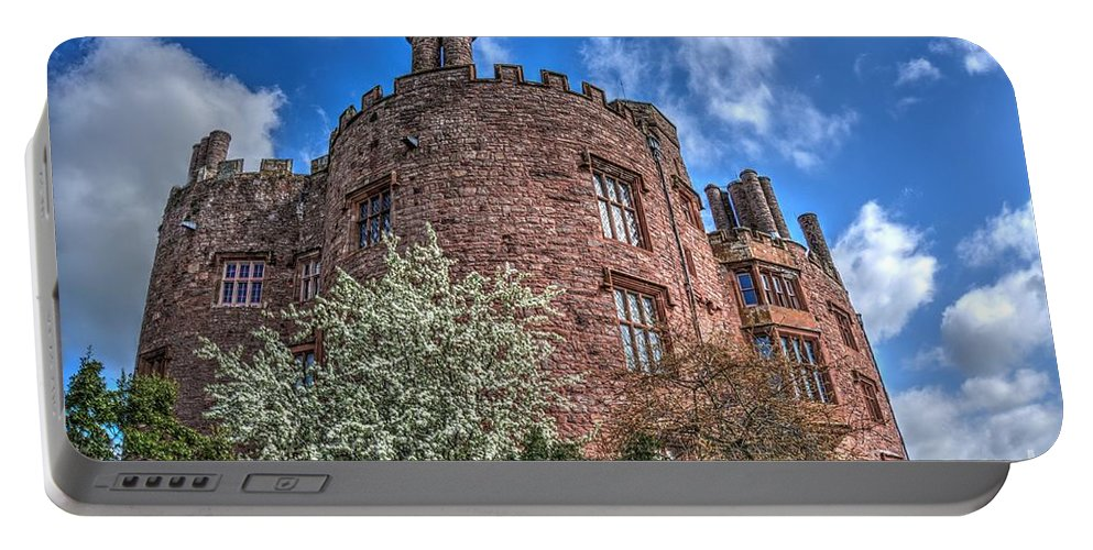 Powis Castle Portable Battery Charger featuring the photograph Powis Castle by MSVRVisual Rawshutterbug