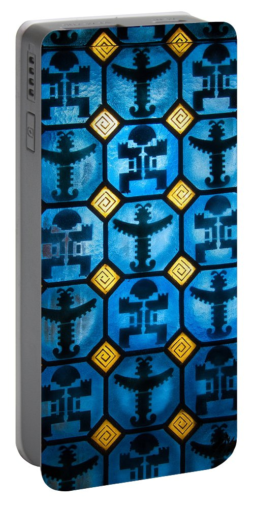 Columbian Portable Battery Charger featuring the photograph Pre-columbian Figures by Jess Kraft