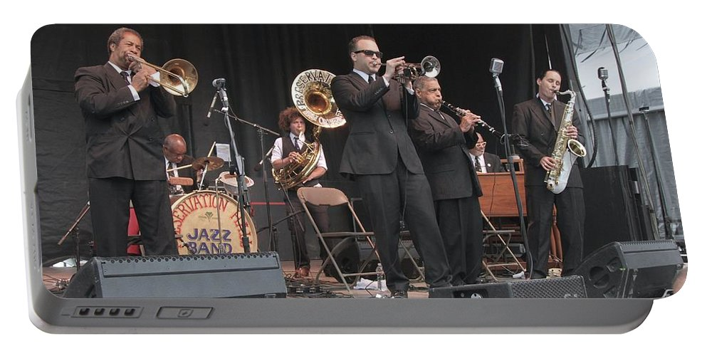 Preservation Hall Jazz Band Portable Battery Charger featuring the photograph Preservation Hall Jazz Band by Concert Photos