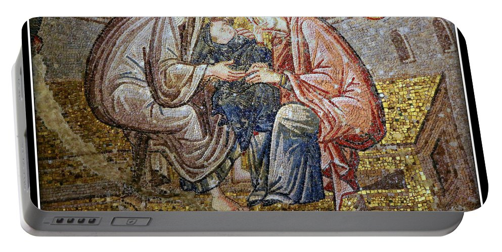 Advent Portable Battery Charger featuring the photograph Prince Of Peace by Stephen Stookey