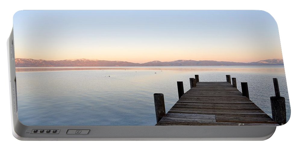 Pier Portable Battery Charger featuring the photograph Proposal by Christina McKinney