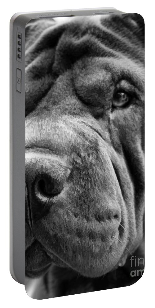 Shar Portable Battery Charger featuring the photograph Proud by Gillian Singleton