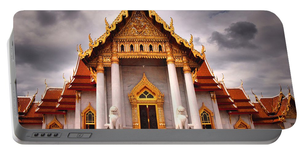 Temple Portable Battery Charger featuring the photograph Proud by Tara Turner