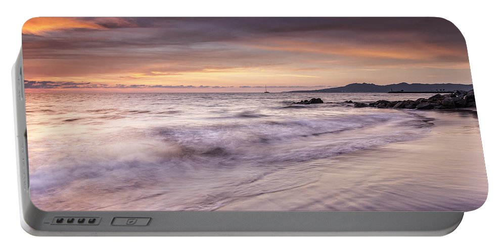 Nuevo Vallarta Portable Battery Charger featuring the photograph Puesta Del Sol by Edward Kreis