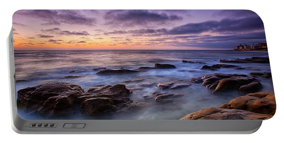 California Portable Battery Charger featuring the photograph Purple Majesty No Mountain by Peter Tellone