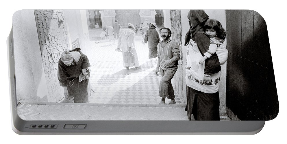Africa Portable Battery Charger featuring the photograph Qarawiyyin Mosque by Shaun Higson