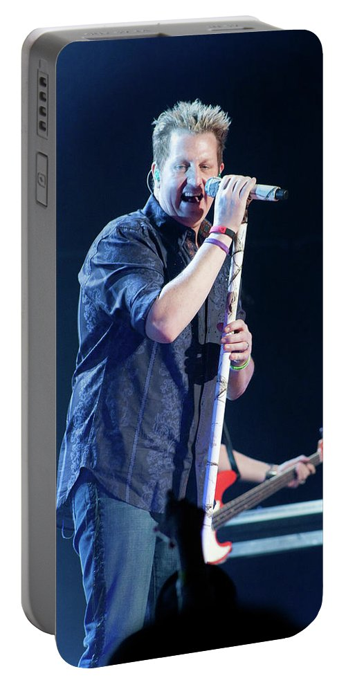 Rascal Flatts Portable Battery Charger featuring the photograph Rascal Flatts 5044 by Timothy Bischoff