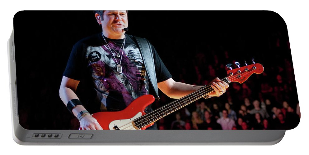 Rascal Flatts Portable Battery Charger featuring the photograph Rascal Flatts 5124 by Timothy Bischoff