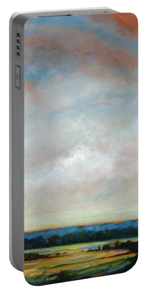 Afternoon Portable Battery Charger featuring the painting Reaching For William Mc Carthy by Dennis Kirby