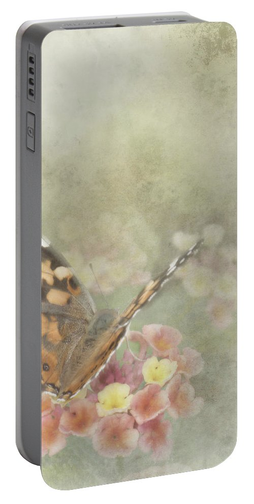 Butterfly Portable Battery Charger featuring the photograph Ready For Flight by David and Carol Kelly