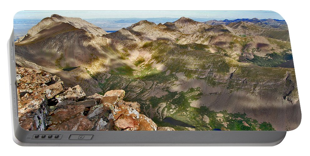 Sangre De Cristo Mountains Portable Battery Charger featuring the photograph Reason To Climb by Jeremy Rhoades