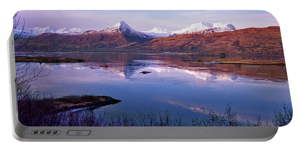 Alaska Portable Battery Charger featuring the photograph Reflect What I Am by Jeremy Rhoades