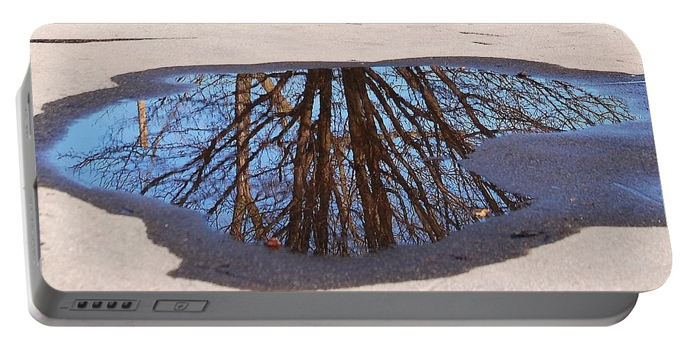 Reflection Portable Battery Charger featuring the photograph Reflection by Lisa Kane