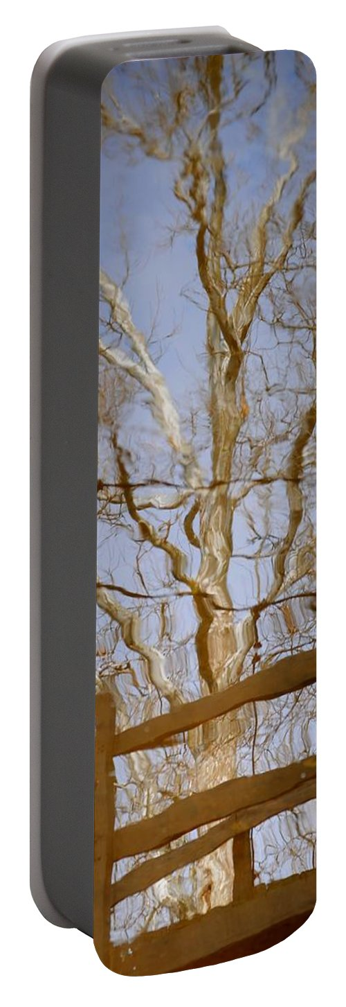 Reflection Portable Battery Charger featuring the photograph Reflection by Frozen in Time Fine Art Photography
