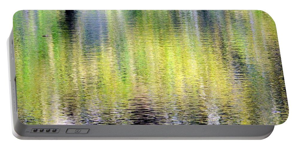 Fall Portable Battery Charger featuring the photograph Reflections Of Fall 3 by Ed Weidman