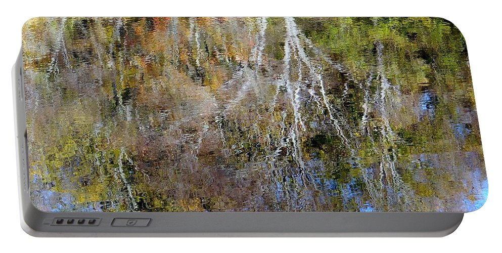 Fall Portable Battery Charger featuring the photograph Reflections Of Fall 5 by Ed Weidman