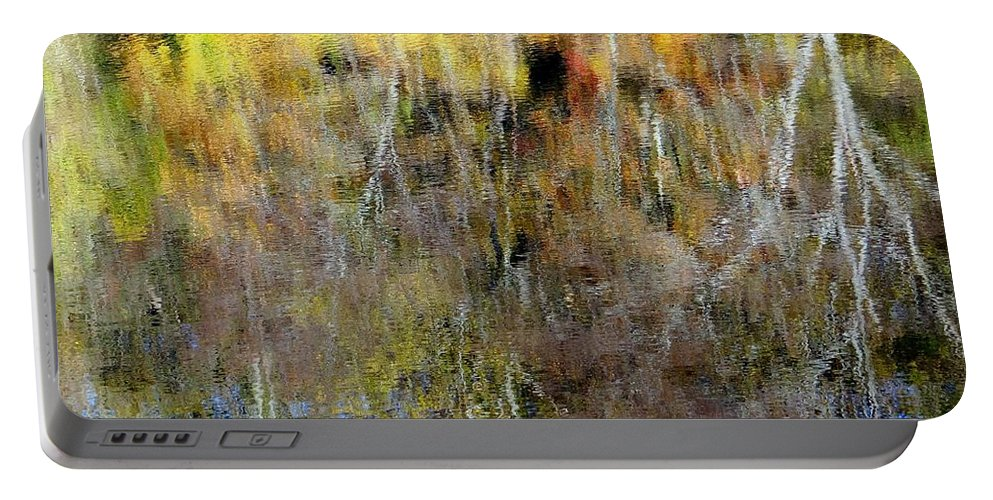 Fall Portable Battery Charger featuring the photograph Reflections Of Fall1 by Ed Weidman