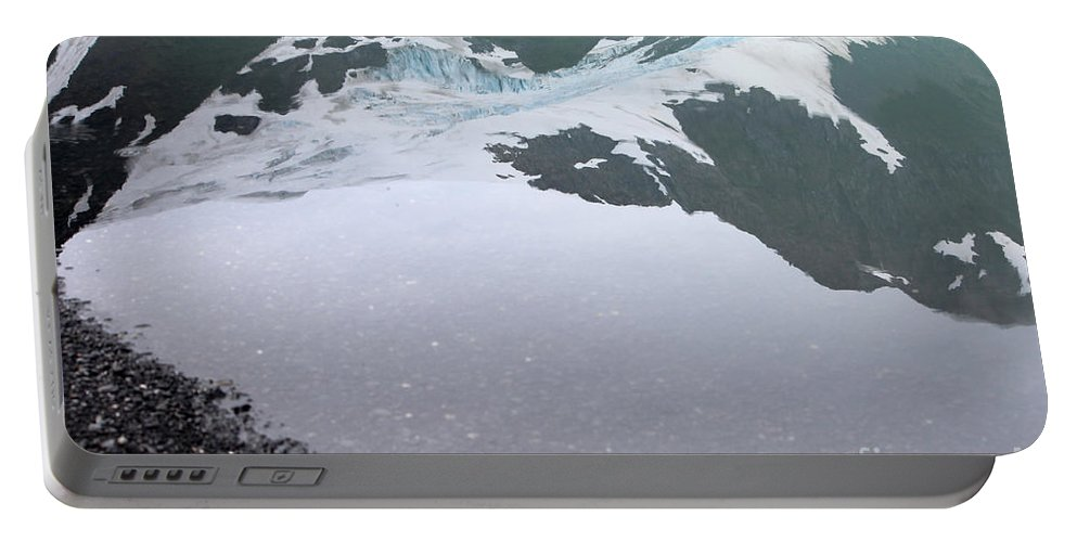 Glacier Portable Battery Charger featuring the photograph Reflections by Stacey May