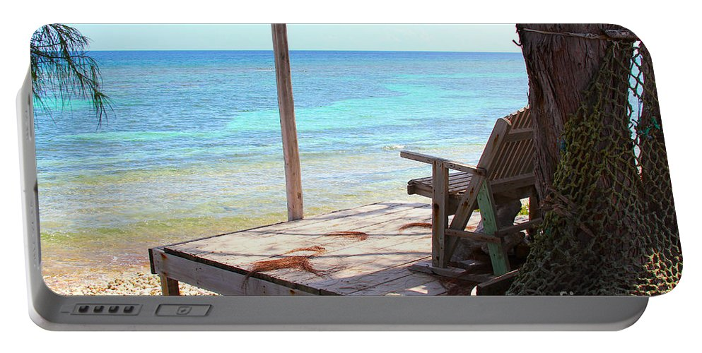 Porch Portable Battery Charger featuring the photograph Relax Porch by Carey Chen