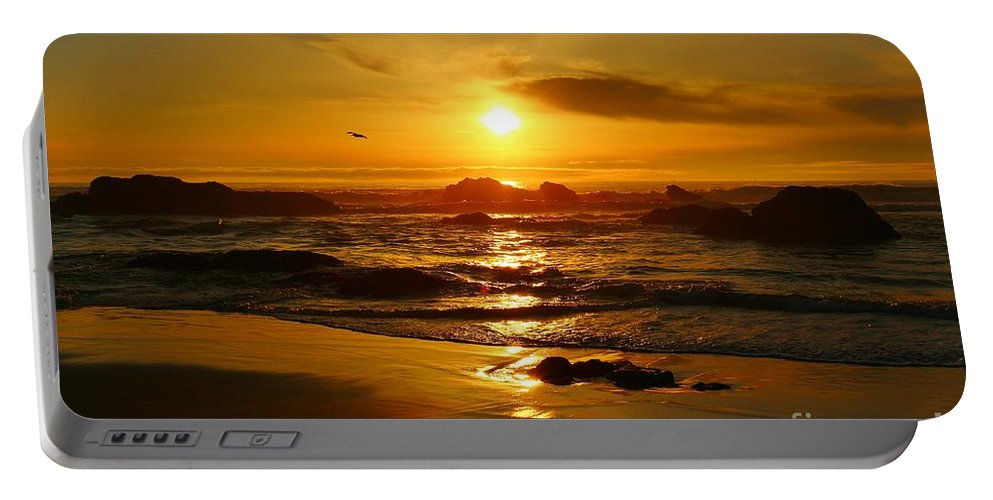 Beach Portable Battery Charger featuring the photograph Relaxation by Long Love Photography