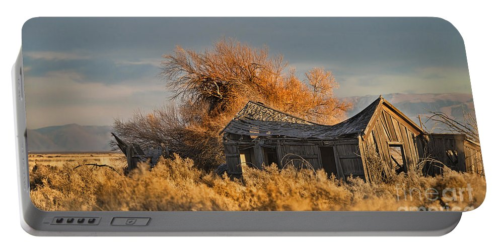 House Portable Battery Charger featuring the photograph Retired And Forgotten by Dianne Phelps