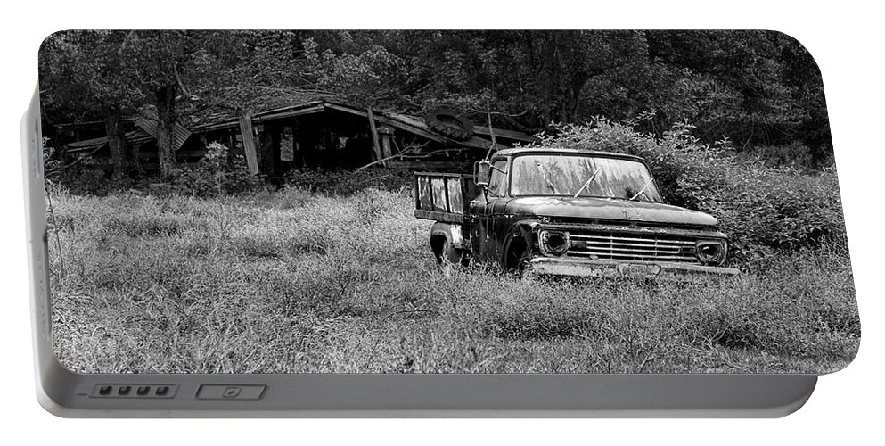 Landscape Portable Battery Charger featuring the photograph Retired by Scott Pellegrin