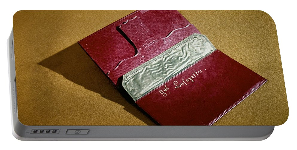 18th Century Portable Battery Charger featuring the photograph Rev War: Wallet by Granger
