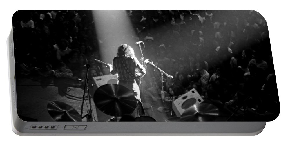 Rory Gallagher Portable Battery Charger featuring the photograph Rg #7 by Ben Upham