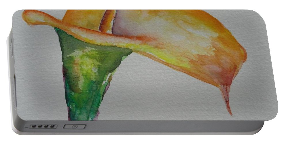 Rhiannon Portable Battery Charger featuring the painting Rhiannon by Shannon Grissom