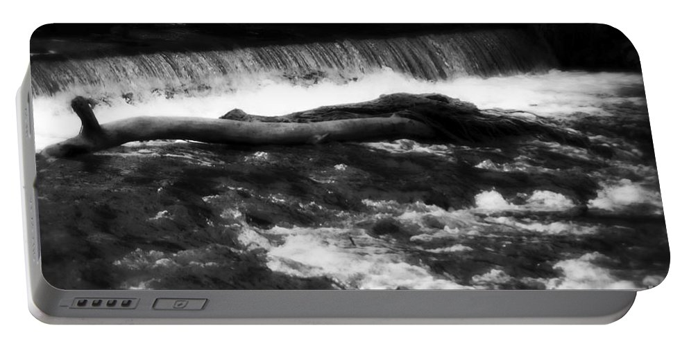 Bakewell Portable Battery Charger featuring the photograph River Wye - England by Doc Braham