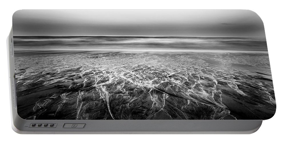 Serenity Portable Battery Charger featuring the photograph Rivers Flowing Into The Night by Edgar Laureano