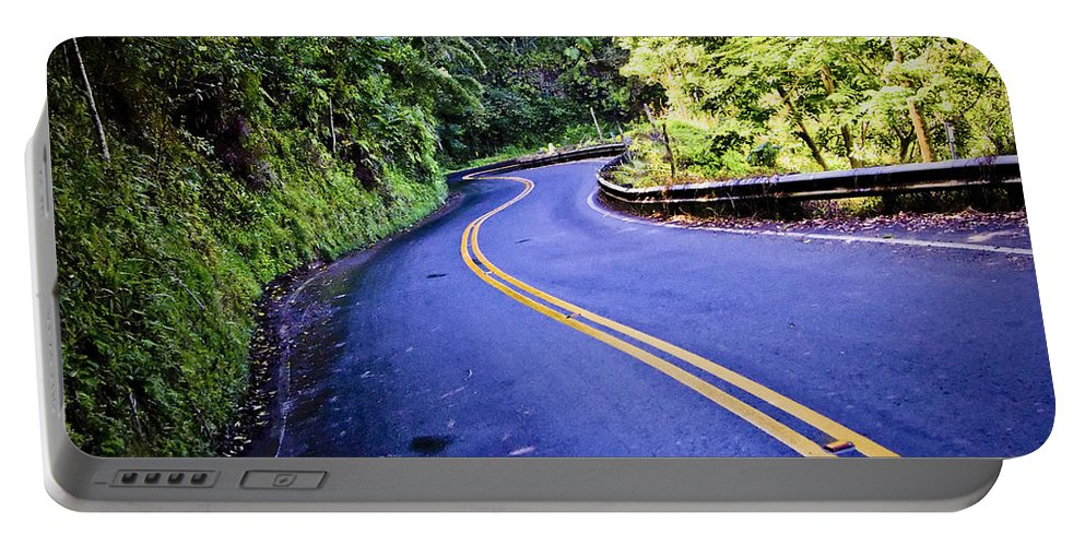 3scape Portable Battery Charger featuring the photograph Road To Hana by Adam Romanowicz