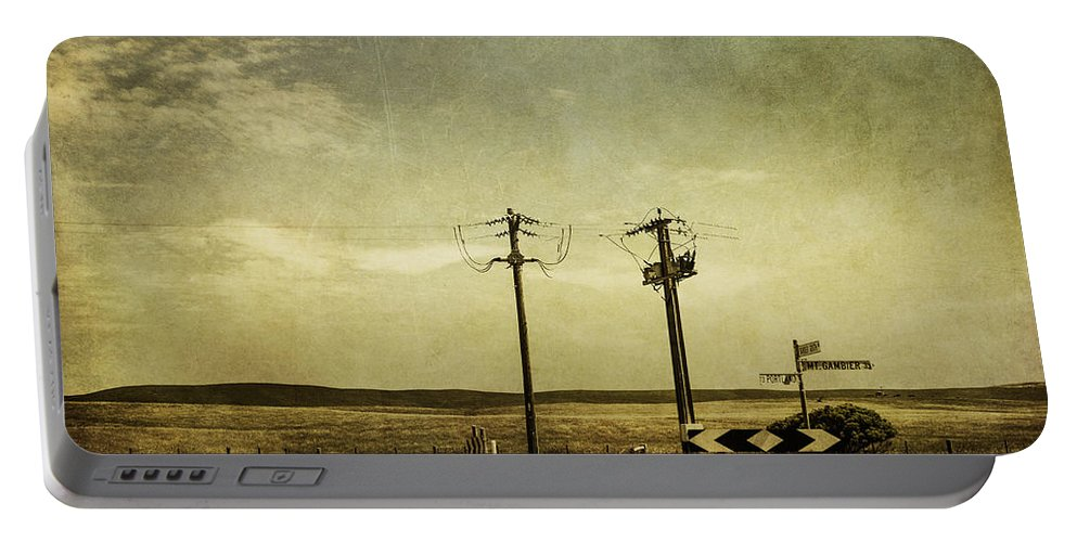 Road Portable Battery Charger featuring the photograph Roaming by Andrew Paranavitana