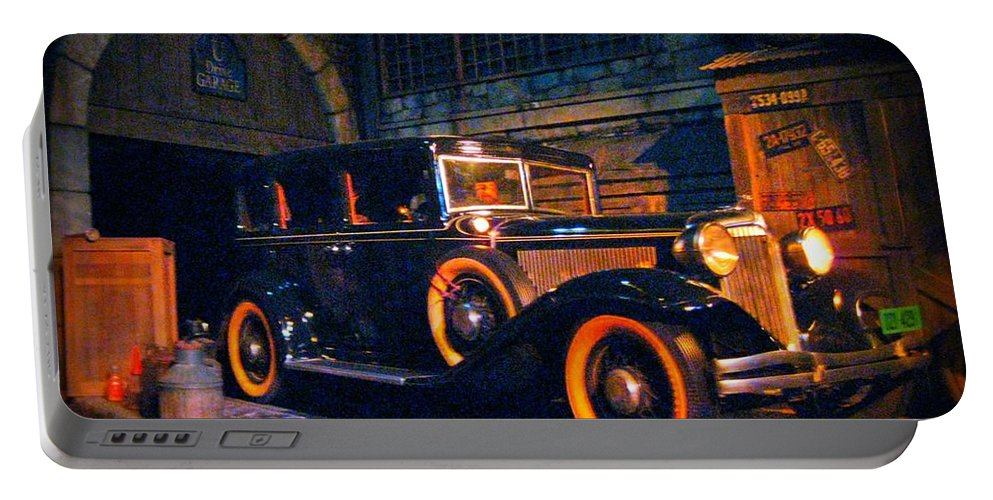 Classic Cars Portable Battery Charger featuring the photograph Roaring Twenties by John Malone