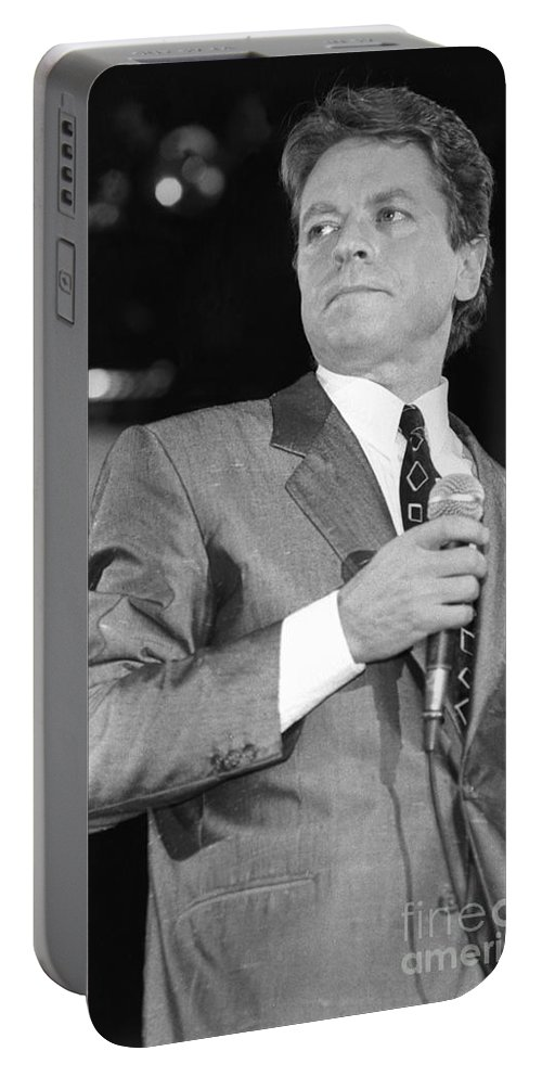 Singer Portable Battery Charger featuring the photograph Robert Palmer by Concert Photos