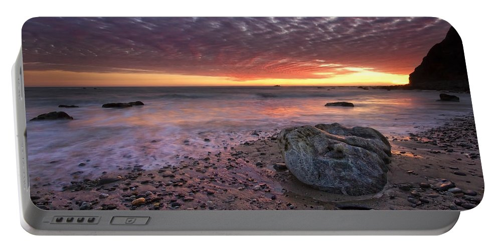 Dana Point Portable Battery Charger featuring the photograph Rock Stopper by Julianne Bradford