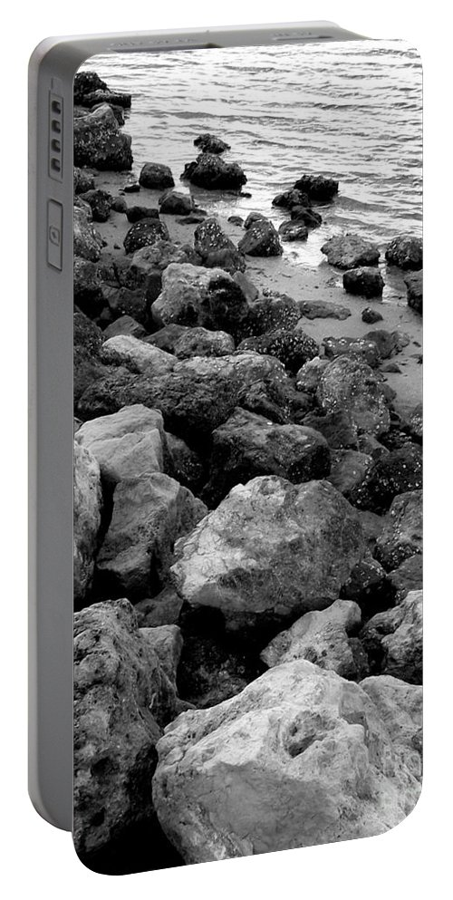 Rocky Portable Battery Charger featuring the photograph Rocky by Anita Lewis