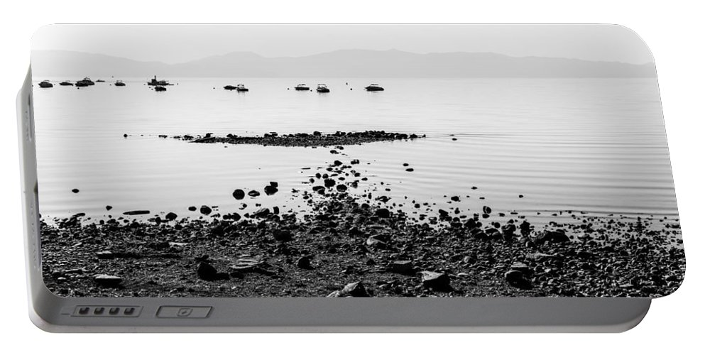 Rocky Beach Portable Battery Charger featuring the photograph Rocky Beach by Chad Dutson