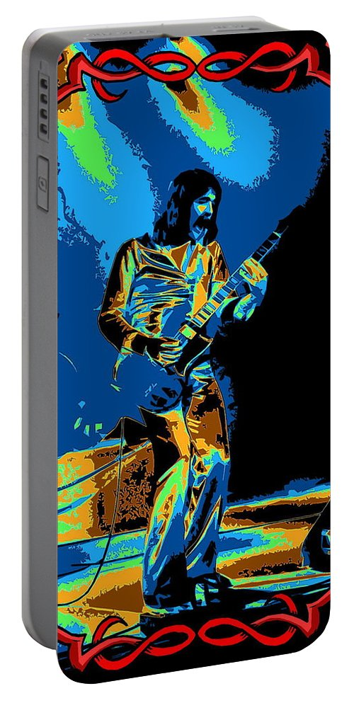 Rod Price Portable Battery Charger featuring the photograph R P In Spokane 1977 by Ben Upham